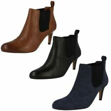 Clarks High (3 in. and Up) Pull On Shoes for Women