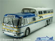 GREYHOUND SCENICRUISER BUS MODEL GM PD-4501 1:43 SIZE IXO USA CLASSIC AMERICAN T