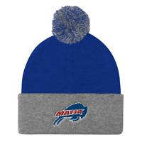 """Buffalo Bills """"Bills Mafia Logo"""" POM Ball Knit Hat Cap Winter Ski Beanie"""