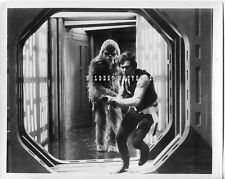 Vintage ORIGINAL Star Wars PHOTO Harrison Ford w/ gun & CHEWBACCA rare action
