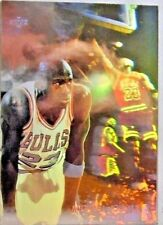 1991 MICHAEL JORDAN UPPER DECK SCORING HOLOFOIL #AW1 NBA BASKETBALL CARD