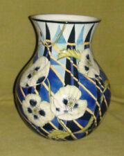 Handpainted Vase - Jenny's Poppies designed by Nicola Wiehahn for Hampton