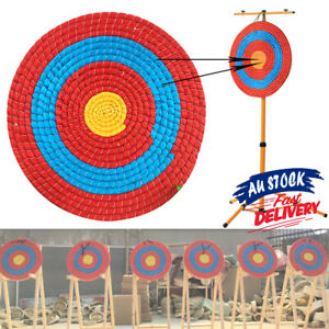 Target Bow Shooting Archery Decor Outdoor Sports Straw Arrow Single Layer ACB#
