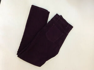 Orvis Cotton Denim Jeans in Plum UK Size 16