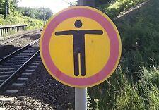 "HO Bahnsteigschilder ""Kein Durchgang"" 15 Stück"