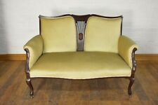 Antique inlaid 2 seater Victorian sofa settee