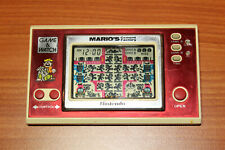 "GAME & WATCH ""MARIO'S CEMENT FACTORY"" NINTENDO 1983"