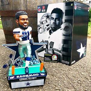 """EZEKIEL ELLIOTT Dallas Cowboys 12 Inch """"Special Ed"""" Fidget Spinner Bobblehead"""