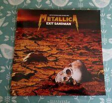 Metallica Exit Sandman Live Sand Coloured Vinyl Euro LP Thrash Speed Metal