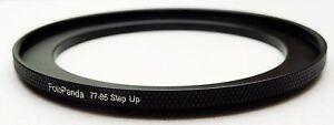 FotoPanda Aluminium 77mm to 95mm 77 95 mm Step Up Filter Ring Stepping Adapter