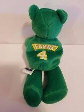 98 Limited Treasures Beanie Baby Bear GB Packers Brett Favre