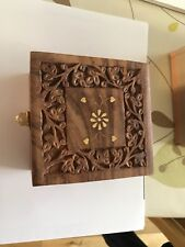 Carved Aromatherapy Essential OIls storage box