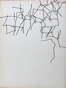 EDUARDO CHILLIDA - Litografia original DLM  nº 143 - año 1964