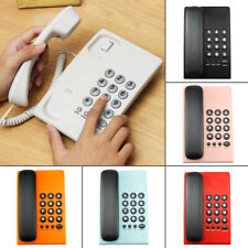 New Type Home Corded Phone Telephone Business Home Office Desktop Phone ,