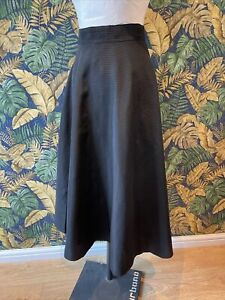 Vintage Origianl 1950s Black Full Skirt