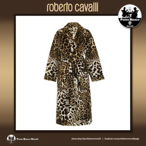 ROBERTO CAVALLI HOME | BRAVO - ANIMALIER | Shawl Collar Bath Robe