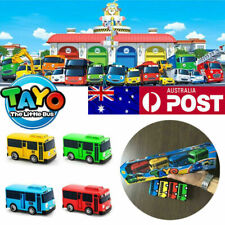 AU 4Pcs/Set TAYO The Little Bus Friends Mini Cars Toys Tayo Set Rogi Gani Rani