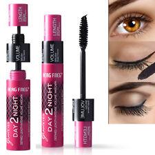 Black 3D Fiber Volume Mascara Slim Thicken Eyes Makeup Waterproof Mascara