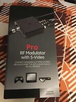 "NEW GE Pro RF Modulator with S-Video For All Brands #38806 ""FREE SHIPPING """