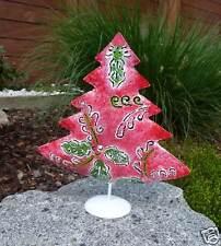 schöner Weihnachtsbaum Metall handbemalt Dekobaum Tannenbaum Christbaum Deko
