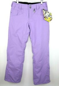 Volcom Vico Pant Womens Size S Snowboard Pants Purple