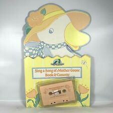 Sing a Song of Mother Goose Book and Cassette Nursery Rhymes 1988