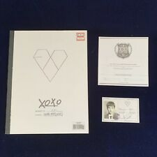 EXO-K Wolf Album Cd Photobook Rare Photocard Smtown Kpop Snsd Bts Suju Shinee Yg