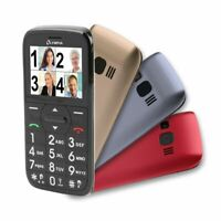 OLYMPIA Happy II Senioren Komfort Mobiltelefon mit 3 Wechsel-Covern