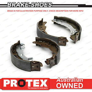 4 Rear Protex Brake Shoes for MITSUBISHI Colt RA 1.4L From Chas CH8006832 82-on