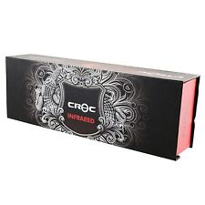 "Croc TurboIon Infrared Digital Ceramic Flat  Iron Straightener 1.5"""