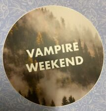 Vampire Weekend Sticker Decal Modern Vampires Of The City Contra 3 in laptop