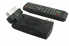 DECODER MINI DIGITALE TERRESTRE SCART DVB-T2 180° USB HDMI PRESA SCART