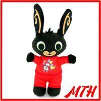 Bedtime Bing Bunny Fisher Price Mattel Red Hoppity Voosh Pyjamas Plush Soft Toy