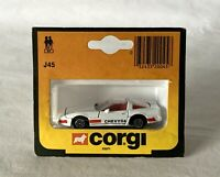 Vintage Boxed Corgi Toys Diecast Toy Car J45 Chevrolet Chevy 84 1984