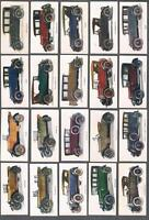 1925 ITC Motor Cars Tobacco Cards Complete Set of 56