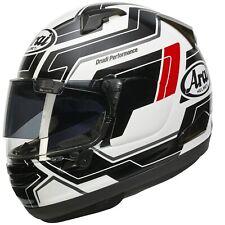 Motorrad Helm Arai QV-Pro Place White weiß schwarz Gr. S