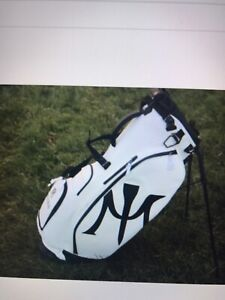 New Vessel White Miura Stand 2.0 Golf Bag ( 6Way, Carbon Fibre Legs)