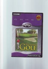 MICROSOFT GOLF 1998 EDITION - PC GAME - FAST POST - COMPLETE - VGC