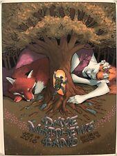 Dave Matthews Band Poster 6/18/16 Bristow, VA **218/960** Great Condition!
