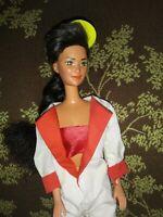 Vintage 1980 Racing Barbie Mattel