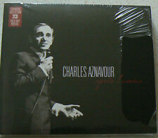 APRES L'AMOUR - AZNAVOUR CHARLES (CD x2) best of 50 titres  NEUF SCELLE
