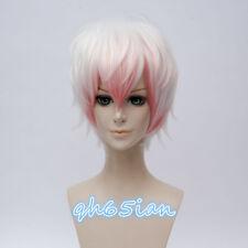 Mystic Messenger Saeran Game Anime Cosplay Costume Wig +Free Wig Cap +Wig cap