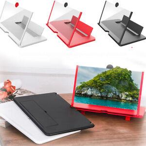 14'' Inch Folding Mobile Phone Screen Magnifier 3D HD Screen Amplifier Stand AU