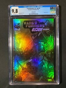 Transformers: G.I. Joe #1 CGC 9.8 (2003) - Holofoil Edition