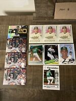 2020 Topps Chrome Jesus Luzardo RC Lot Oakland As Rookie Card MLB