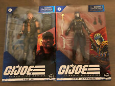 GI Joe Classified Series Gung Ho And Cobra Commander Brand New