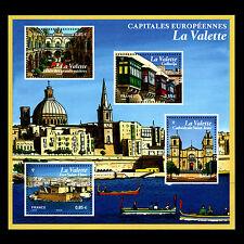 "France 2017 - European Capitals ""Valletta, Malta"" Architecture City - MNH"