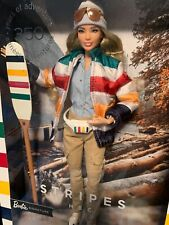 Barbie STRIPES HBC Hudson's Bay 2020 Limited Edition Canada GHT68 Brand New