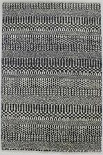 Wool Hand-Knotted Charcoal Small 2X3 Grass Design Oriental Area Rug Home Carpet
