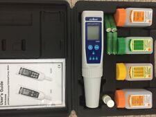 Waterproof Pocket pH EC TDS salt meter 8200